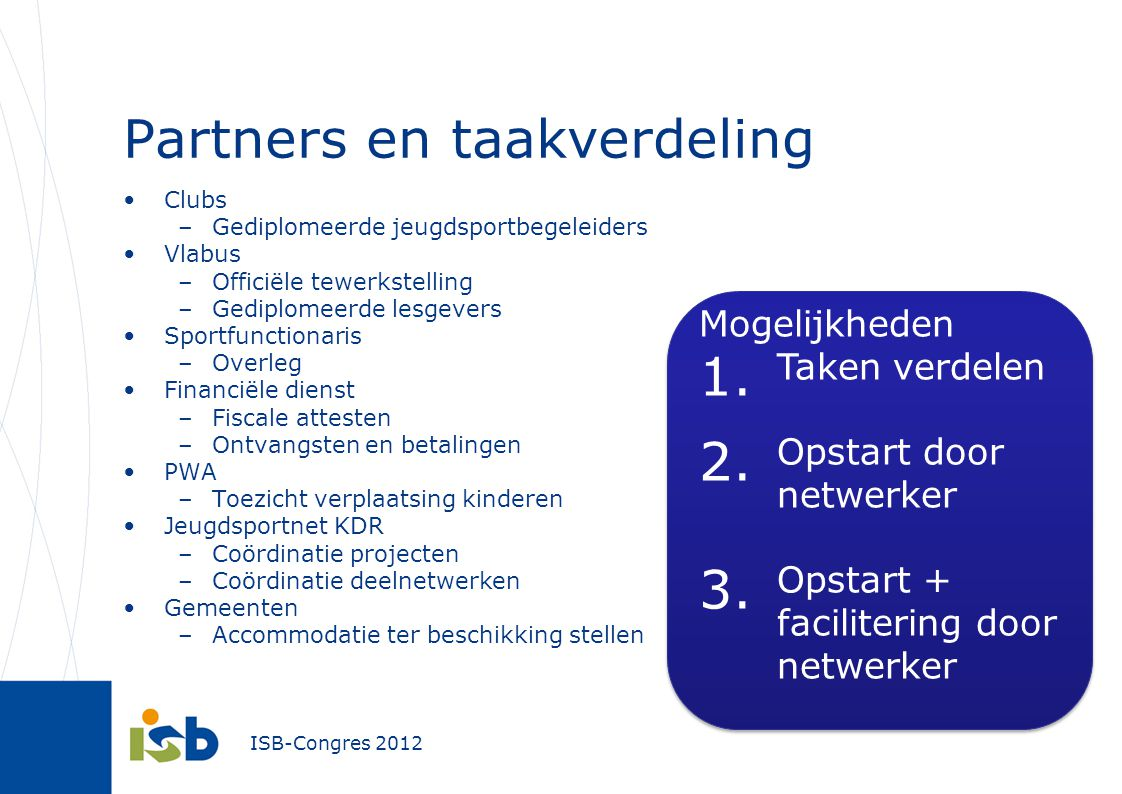 Partners en taakverdeling