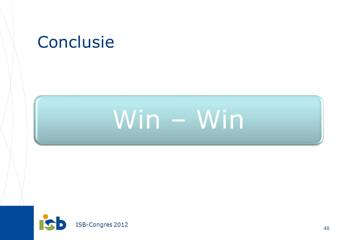 Conclusie Win – Win