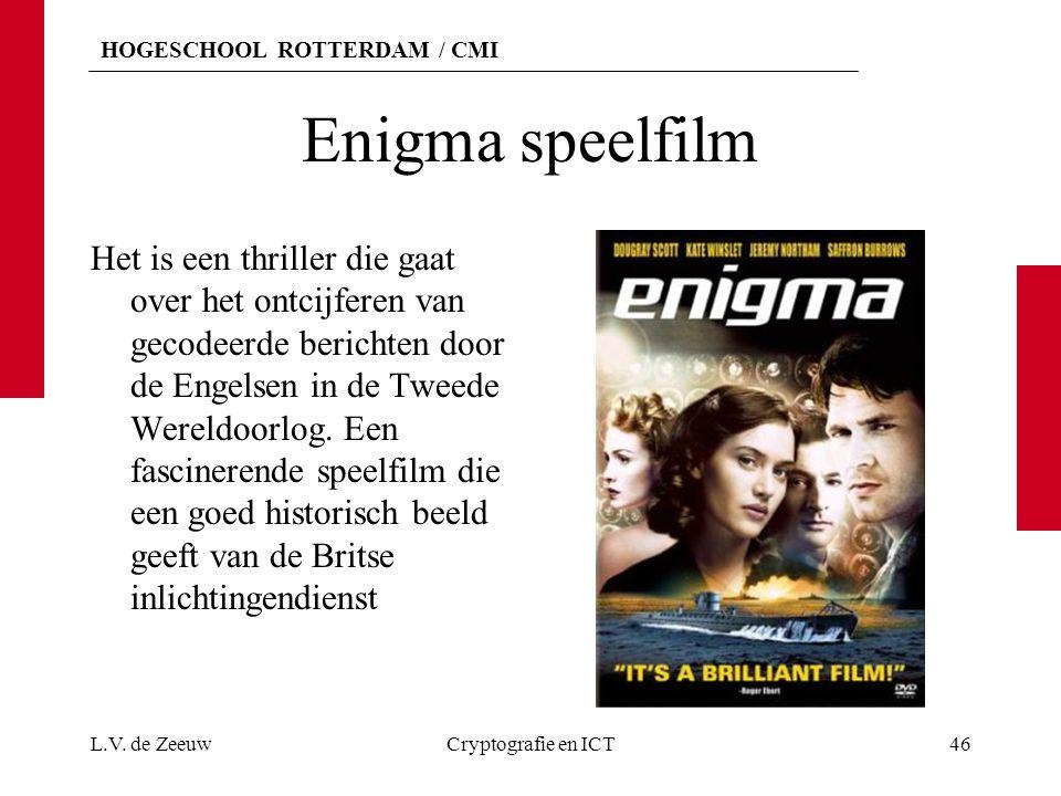 Enigma speelfilm