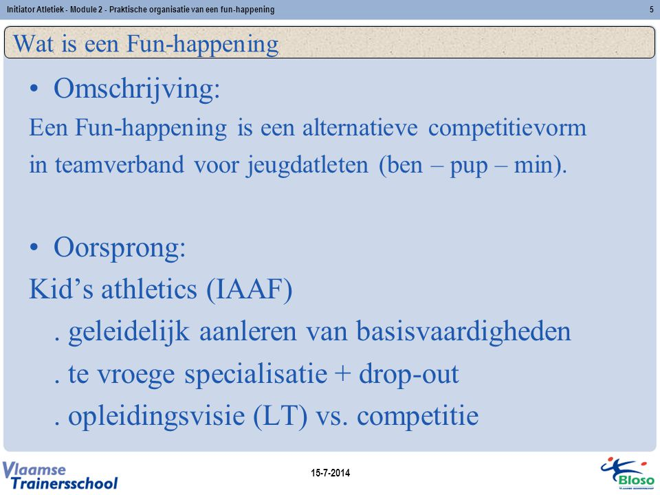Wat is een Fun-happening