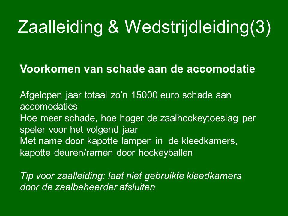 Zaalleiding & Wedstrijdleiding(3)