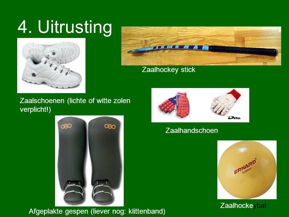 4. Uitrusting Zaalhockey stick