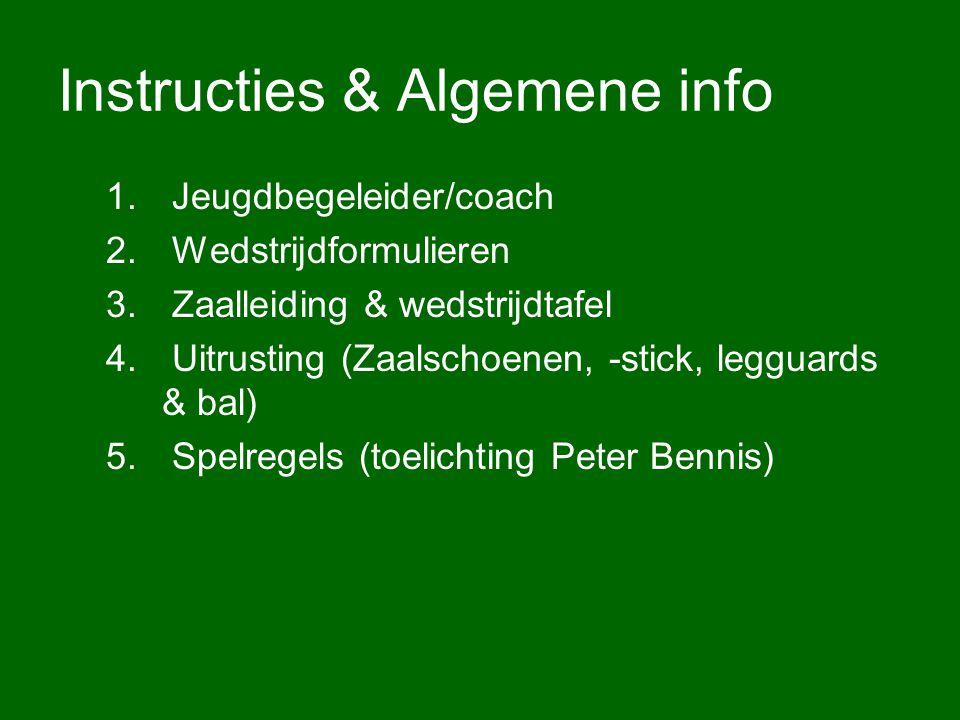 Instructies & Algemene info