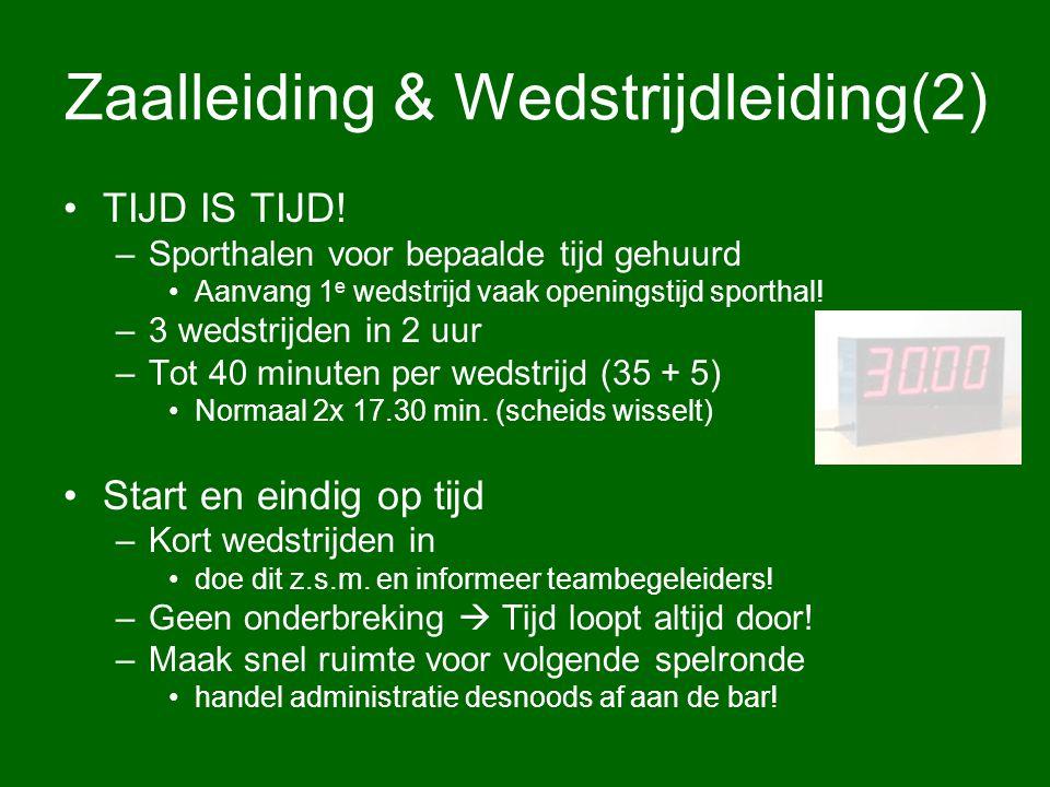 Zaalleiding & Wedstrijdleiding(2)