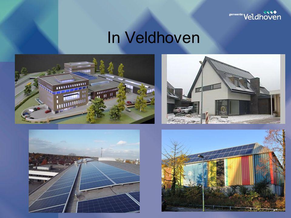 In Veldhoven Kies nieuwe dia, onder Invoegen, die 2 tekstvakken bevat: een voor de titel, een voor overige tekst;