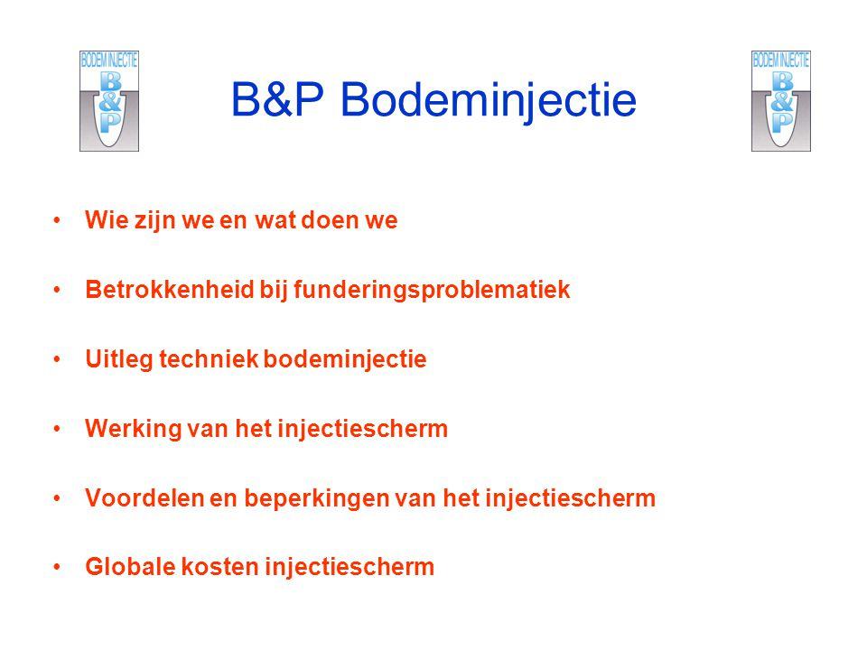 B&P Bodeminjectie Wie zijn we en wat doen we