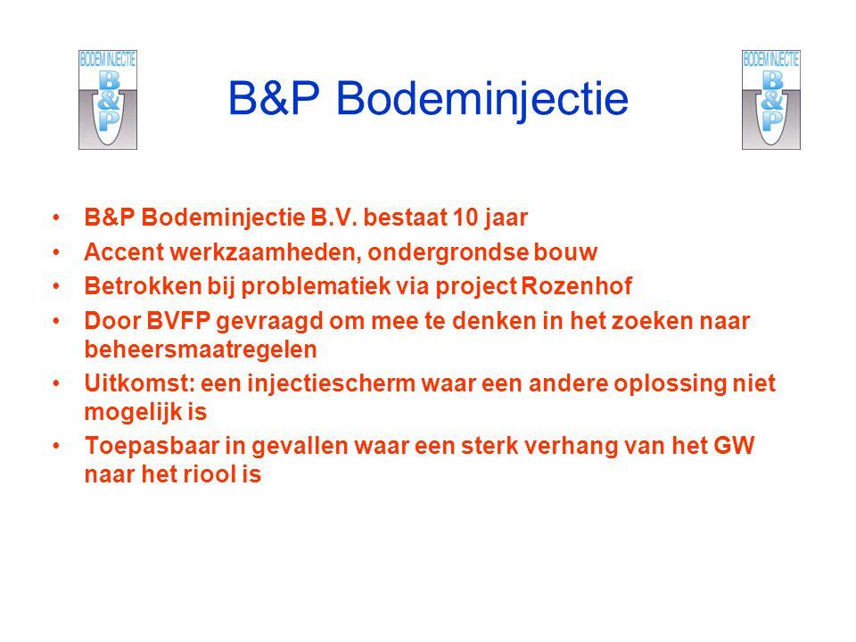 B&P Bodeminjectie B&P Bodeminjectie B.V. bestaat 10 jaar