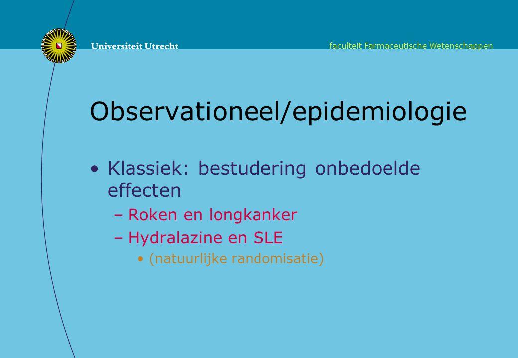 Observationeel/epidemiologie