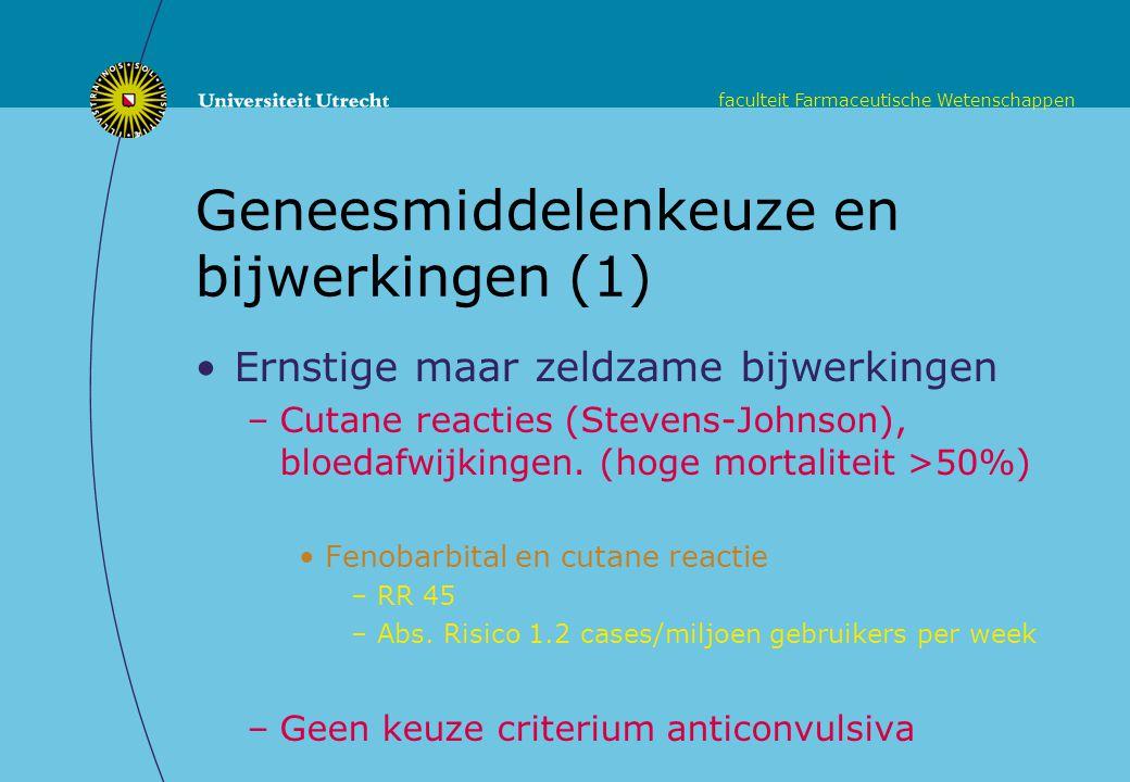 Geneesmiddelenkeuze en bijwerkingen (1)