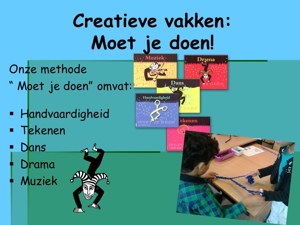 Creatieve vakken: Moet je doen!