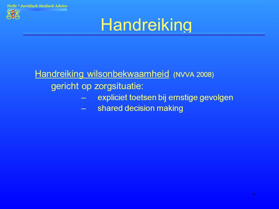 Handreiking Handreiking wilsonbekwaamheid (NVVA 2008)