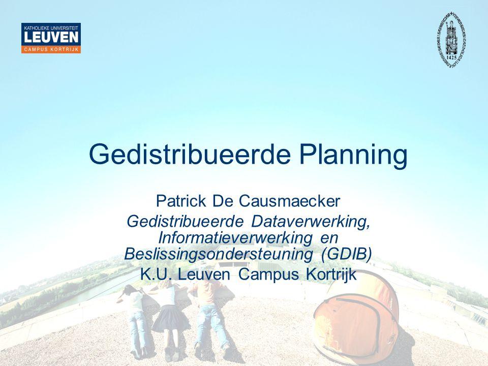 Gedistribueerde Planning