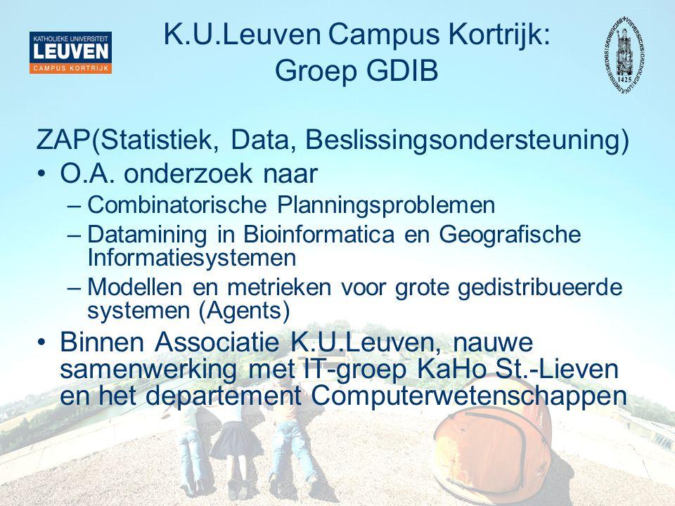 K.U.Leuven Campus Kortrijk: Groep GDIB