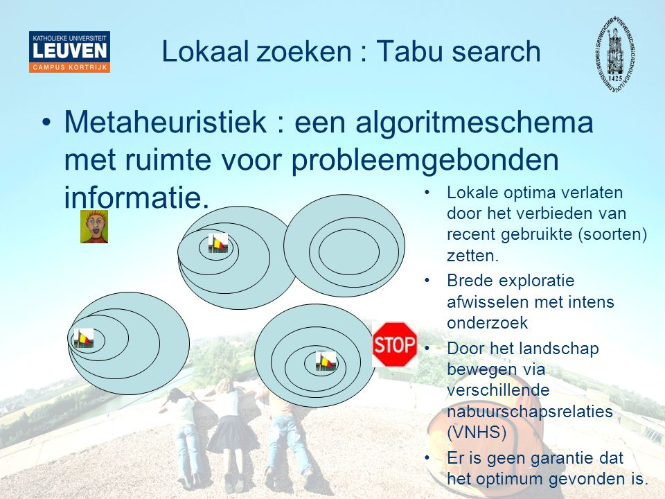 Lokaal zoeken : Tabu search