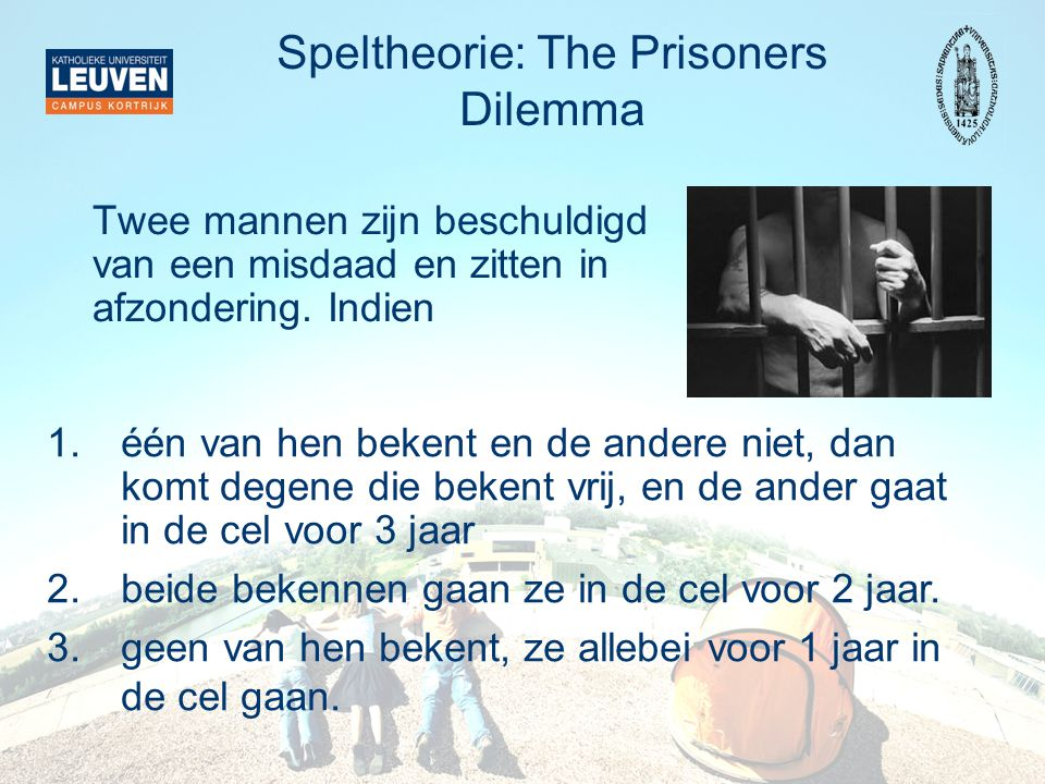 Speltheorie: The Prisoners Dilemma