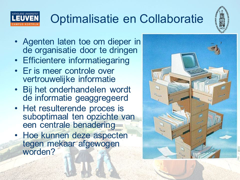 Optimalisatie en Collaboratie