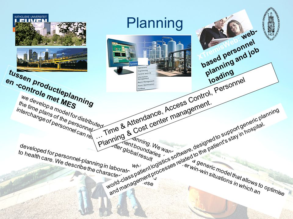 Planning XTremisWeb: web-based personnel planning and job loading
