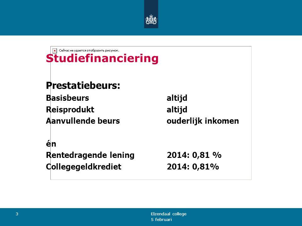 Studiefinanciering Prestatiebeurs: Basisbeurs altijd
