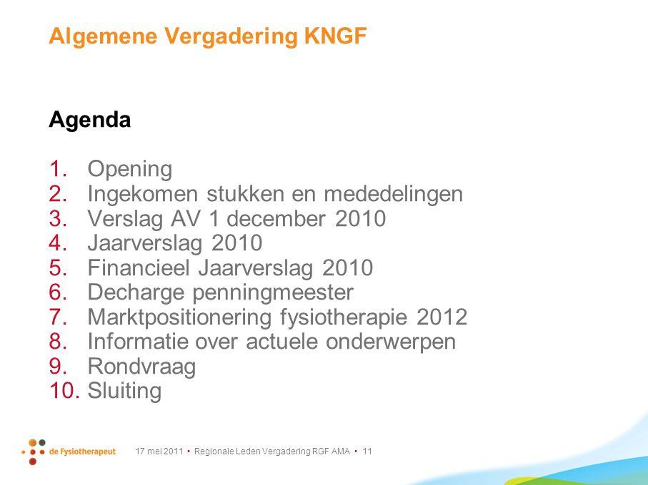 Algemene Vergadering KNGF