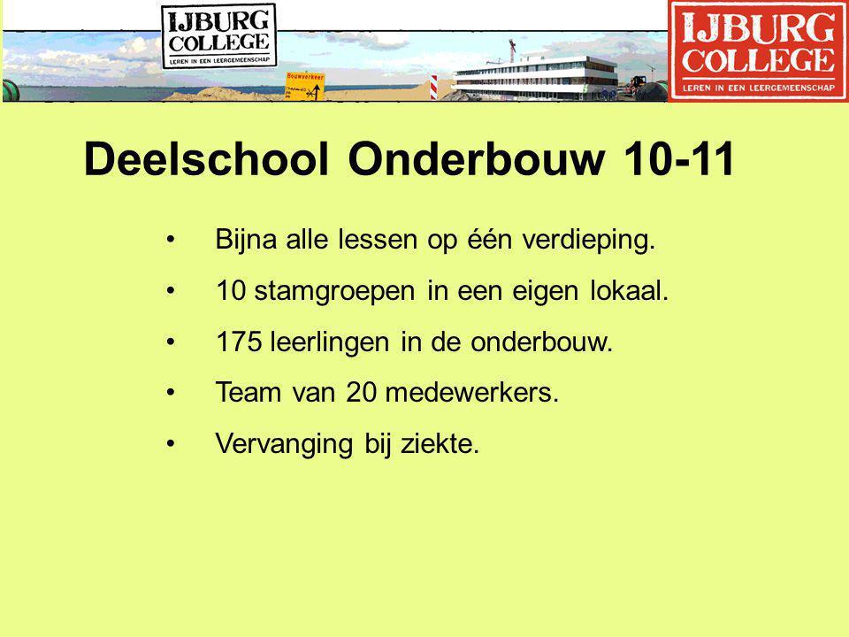 Deelschool Onderbouw 10-11