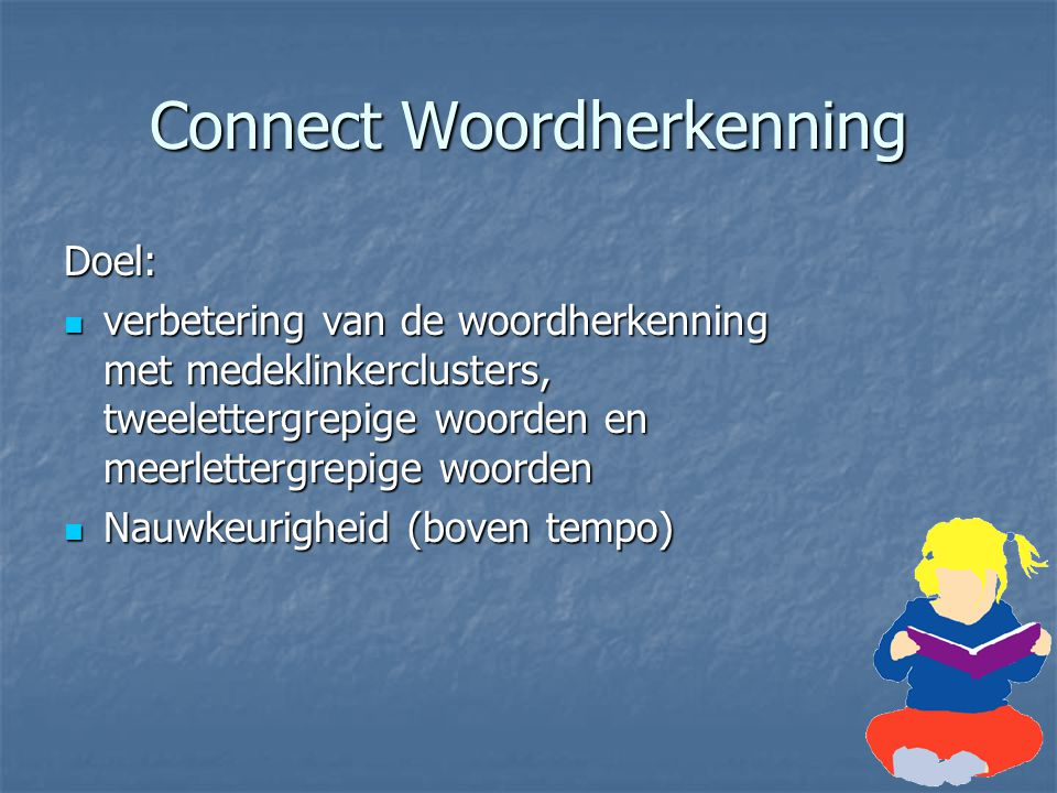 Connect Woordherkenning