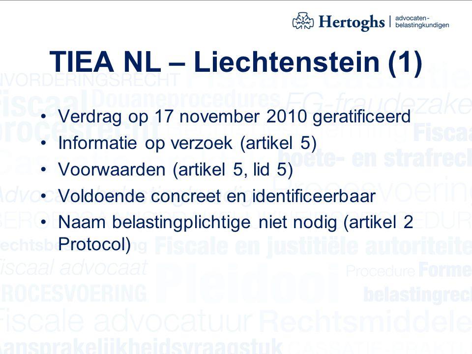 TIEA NL – Liechtenstein (1)
