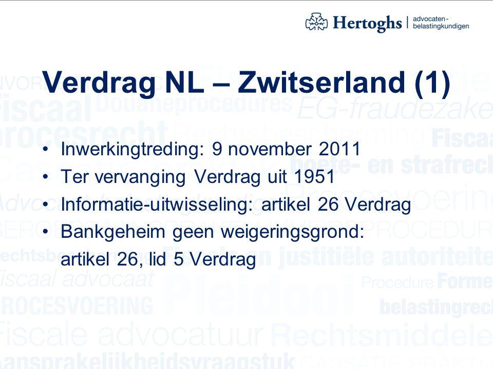 Verdrag NL – Zwitserland (1)