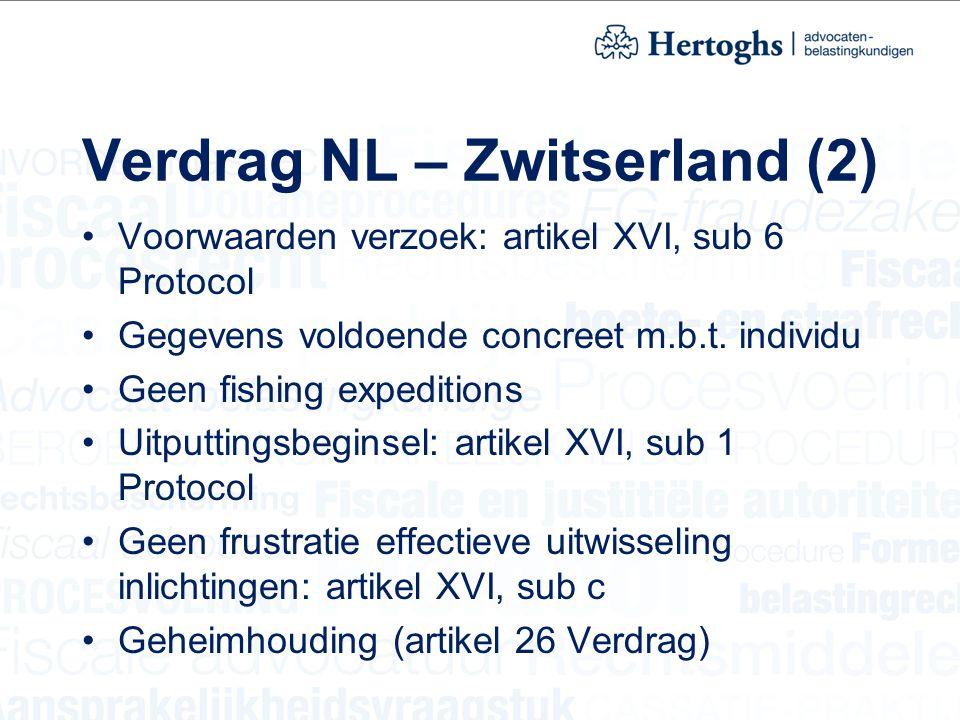 Verdrag NL – Zwitserland (2)