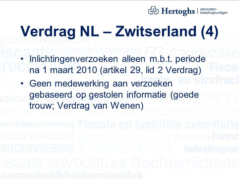 Verdrag NL – Zwitserland (4)