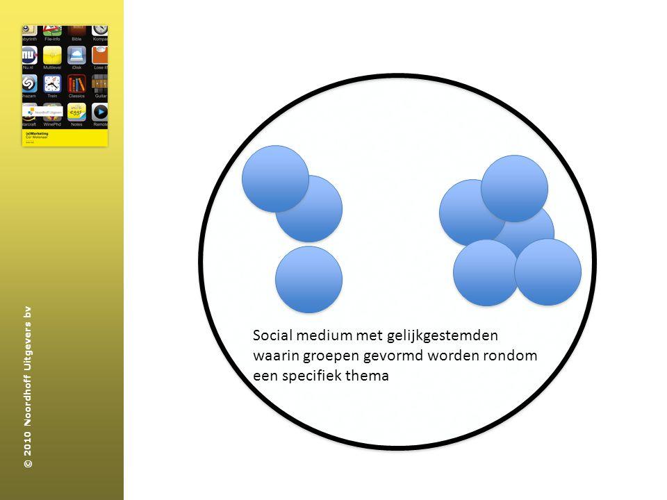 Social medium met gelijkgestemden