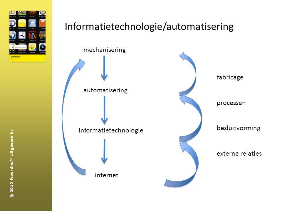 Informatietechnologie/automatisering