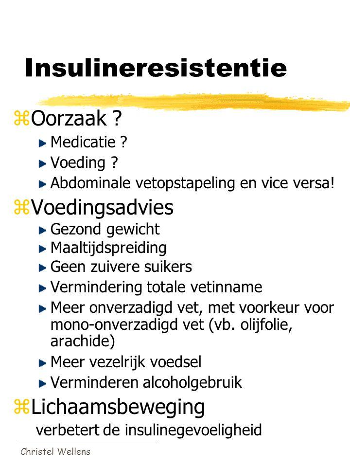 Insulineresistentie Oorzaak Voedingsadvies Lichaamsbeweging