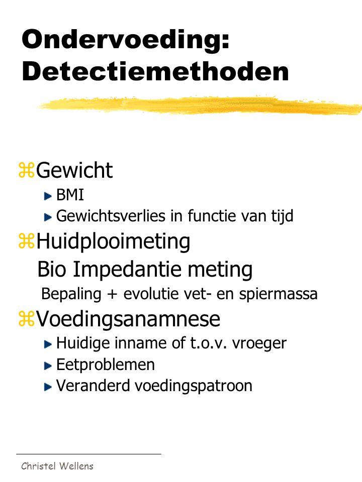 Ondervoeding: Detectiemethoden