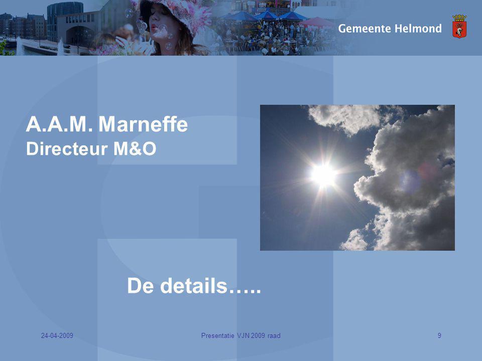 A.A.M. Marneffe Directeur M&O