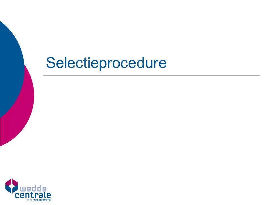 Selectieprocedure