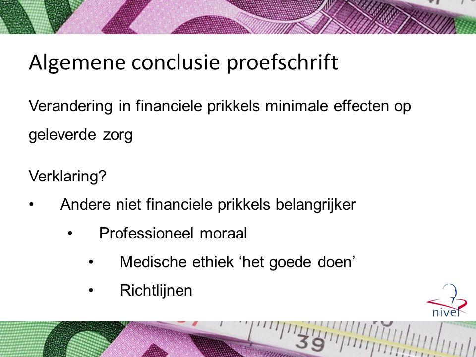 Algemene conclusie proefschrift