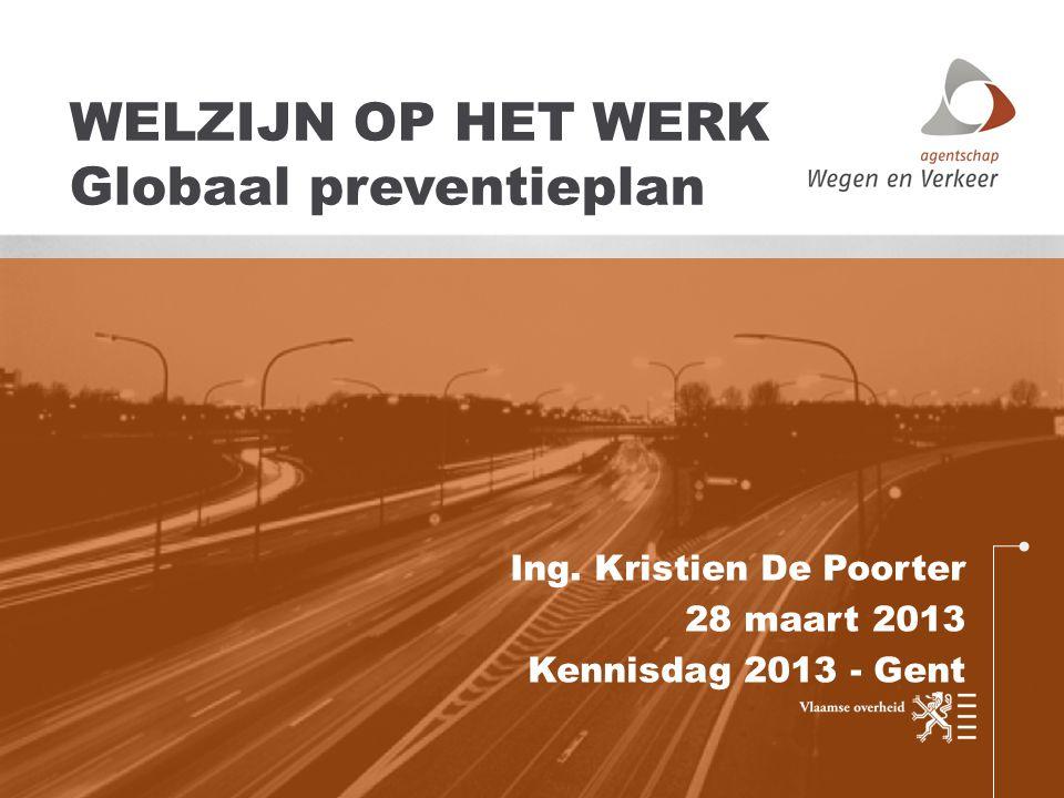 WELZIJN OP HET WERK Globaal preventieplan