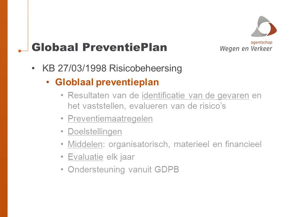 Globaal PreventiePlan