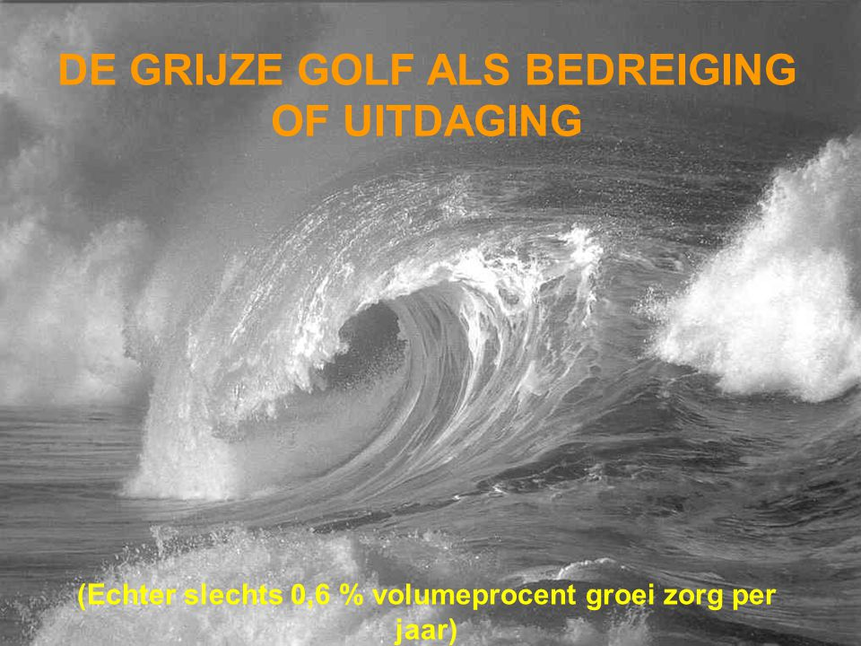 DE GRIJZE GOLF ALS BEDREIGING OF UITDAGING