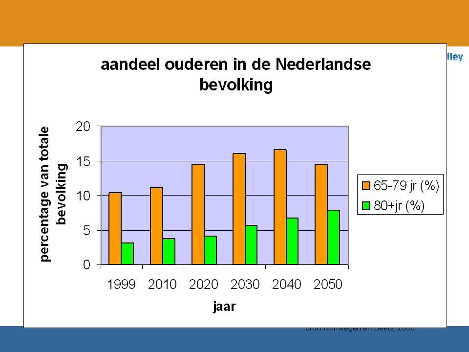 bron:Nimwegen en Beets, 2000