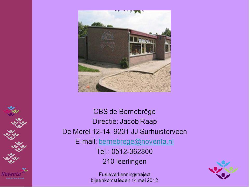 De Merel 12-14, 9231 JJ Surhuisterveen E-mail: bernebrege@noventa.nl