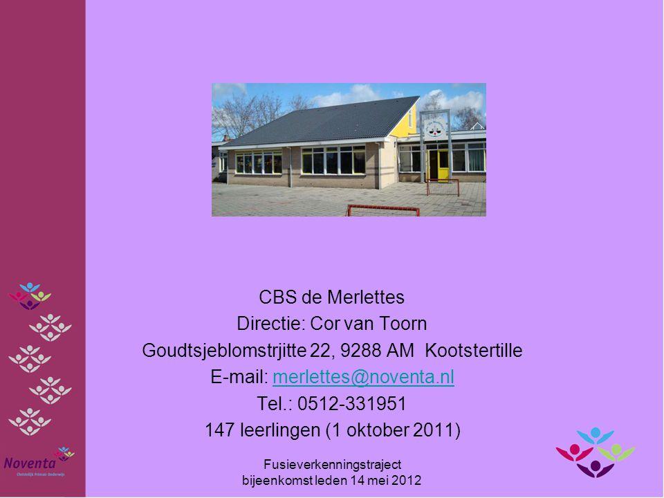 Directie: Cor van Toorn Goudtsjeblomstrjitte 22, 9288 AM Kootstertille