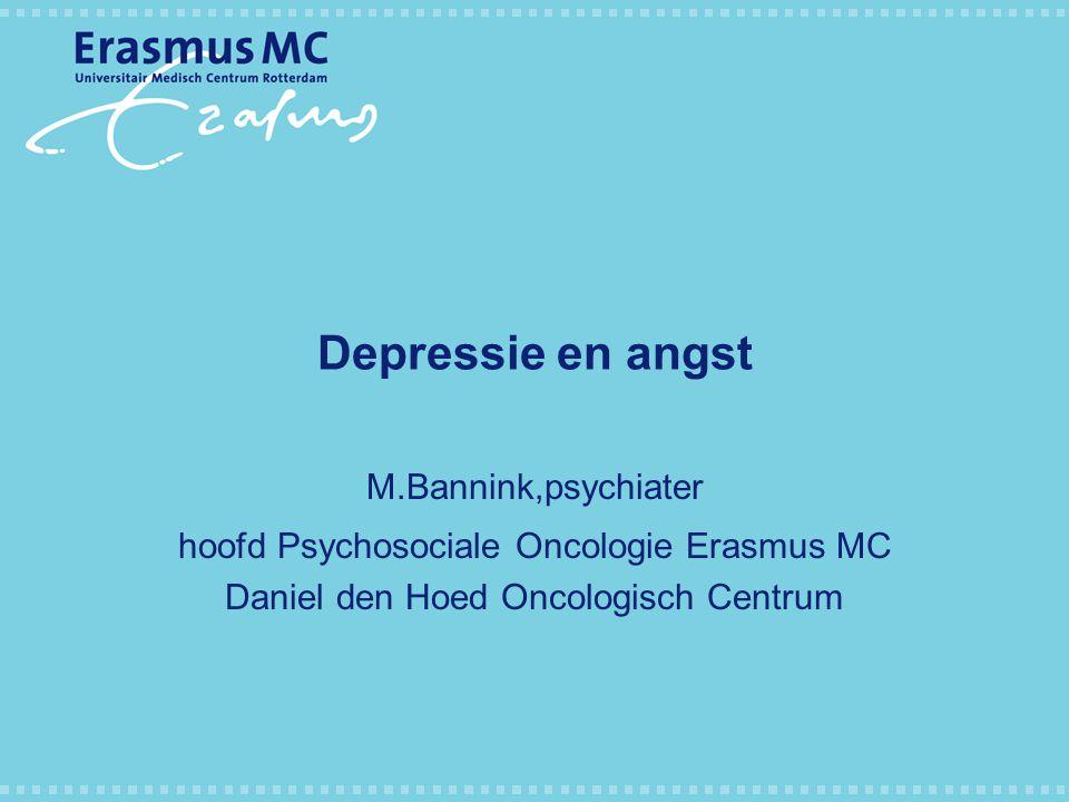 Depressie en angst M.Bannink,psychiater