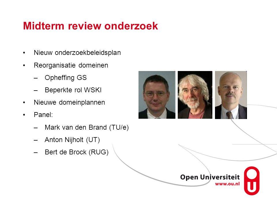 Midterm review onderzoek