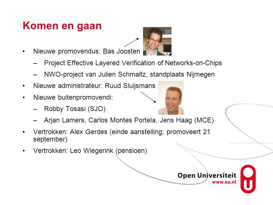 Komen en gaan Nieuwe promovendus: Bas Joosten