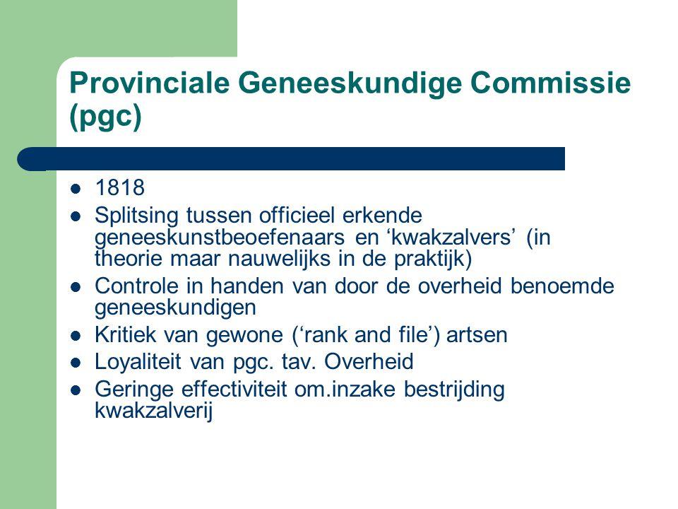 Provinciale Geneeskundige Commissie (pgc)