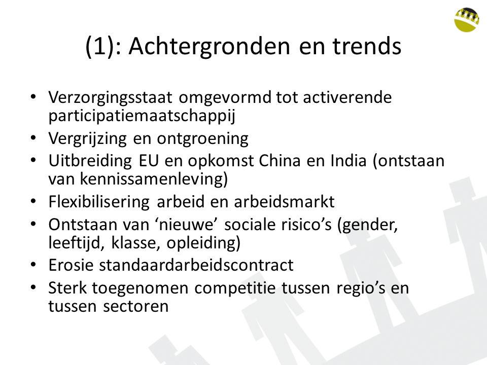 (1): Achtergronden en trends