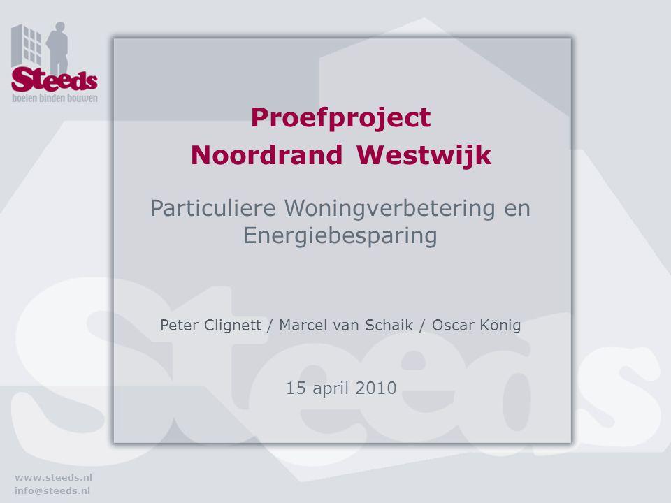 Proefproject Noordrand Westwijk