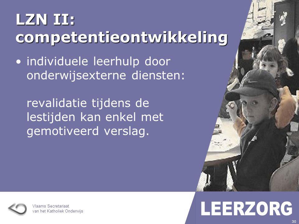 LZN II: competentieontwikkeling