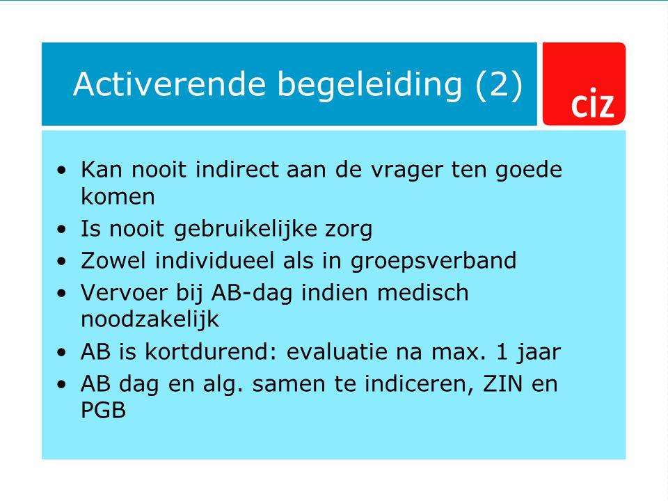 Activerende begeleiding (2)